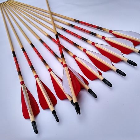 Hunting longbow arc